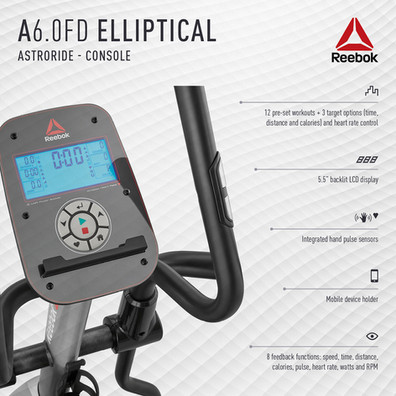 Reebok A6.0FD Cross Trainer Console