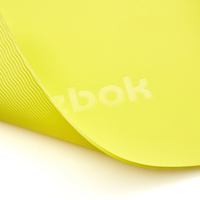 Reebok 5mm yellow yoga mat