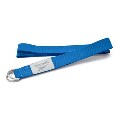 Blue Reebok yoga strap