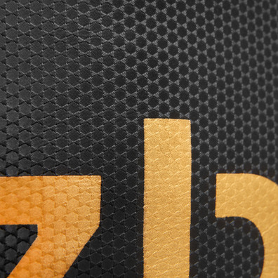 Black and gold 4ft PU Punchbag