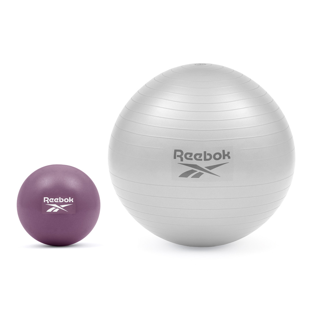 Reebok purple mini yoga ball