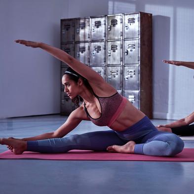 8 mm Yoga Mat - mystery ruby