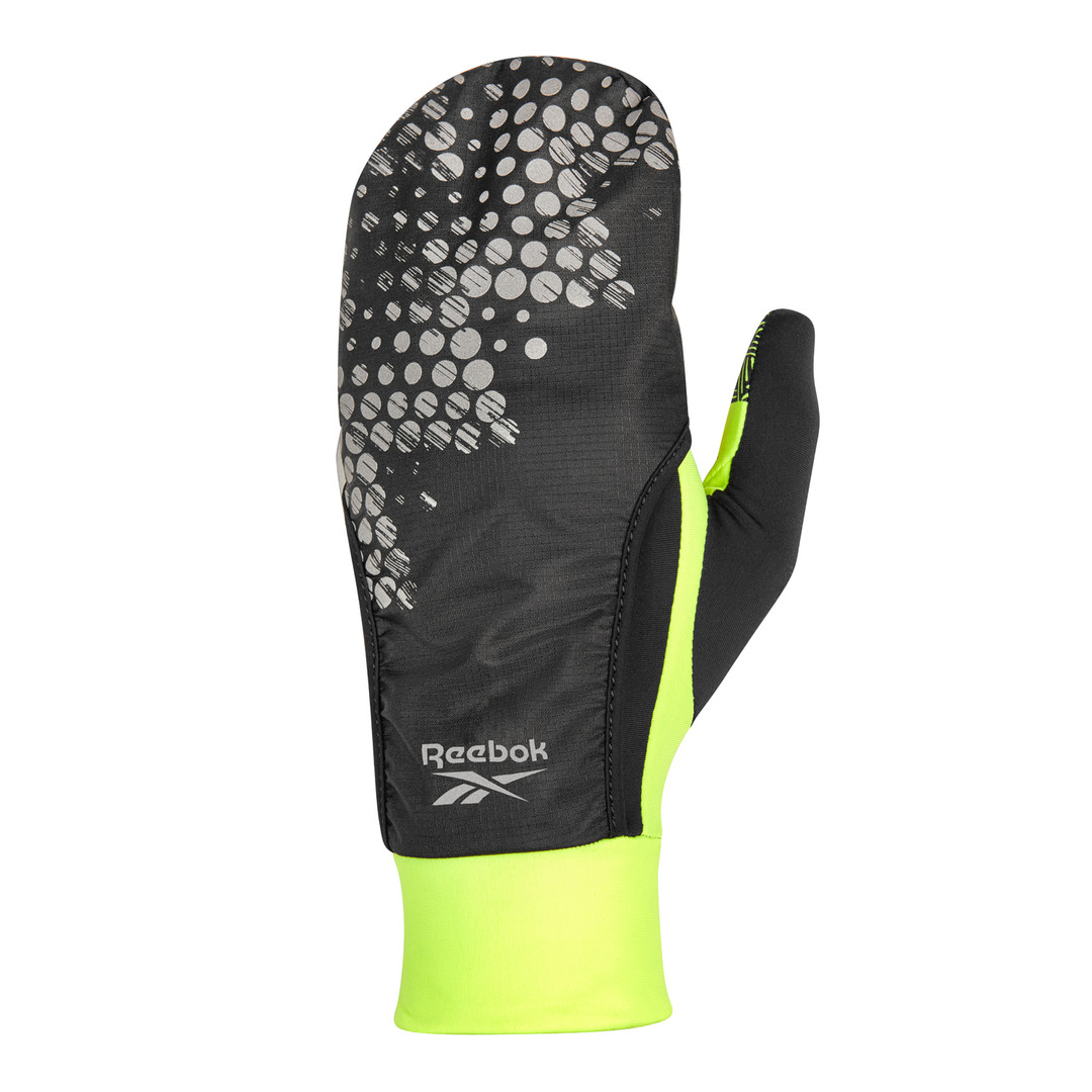 Reebok running gloves with finger hood