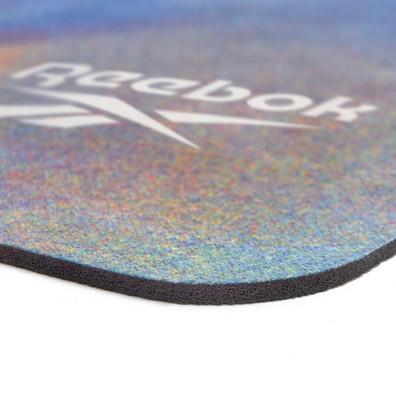 Reebok natural rubber patterned yoga mat