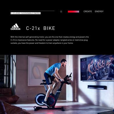 adidas C-21x Bike Sustainable Engery