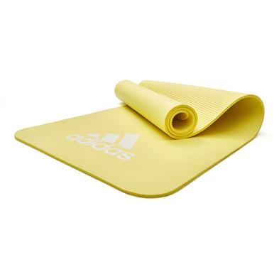 adidas 7mm Pulse Yellow Yoga Mat