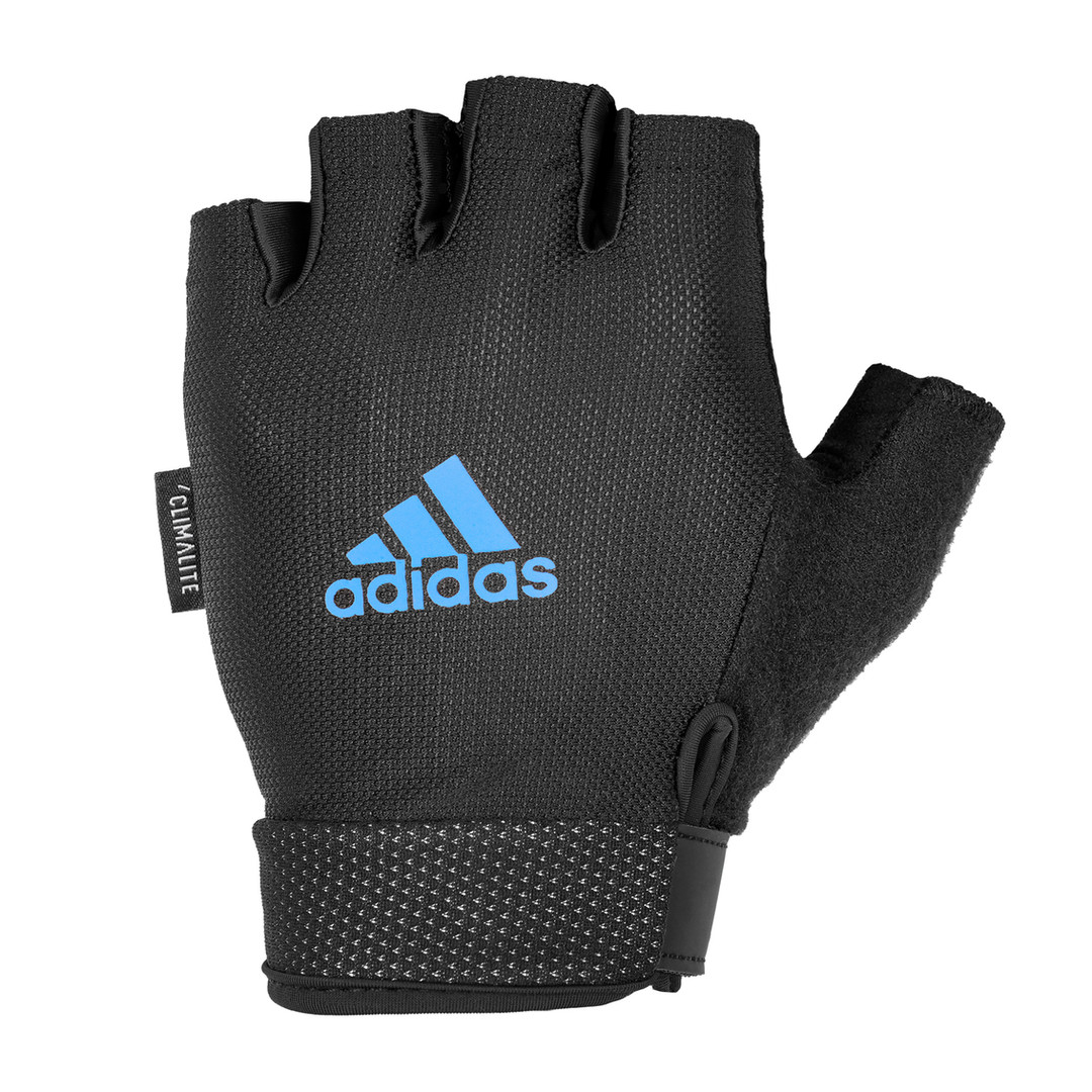 Essential Adjustable Gloves - blue
