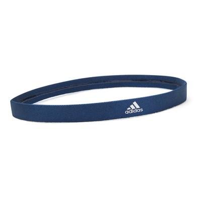 Blue yoga hairband