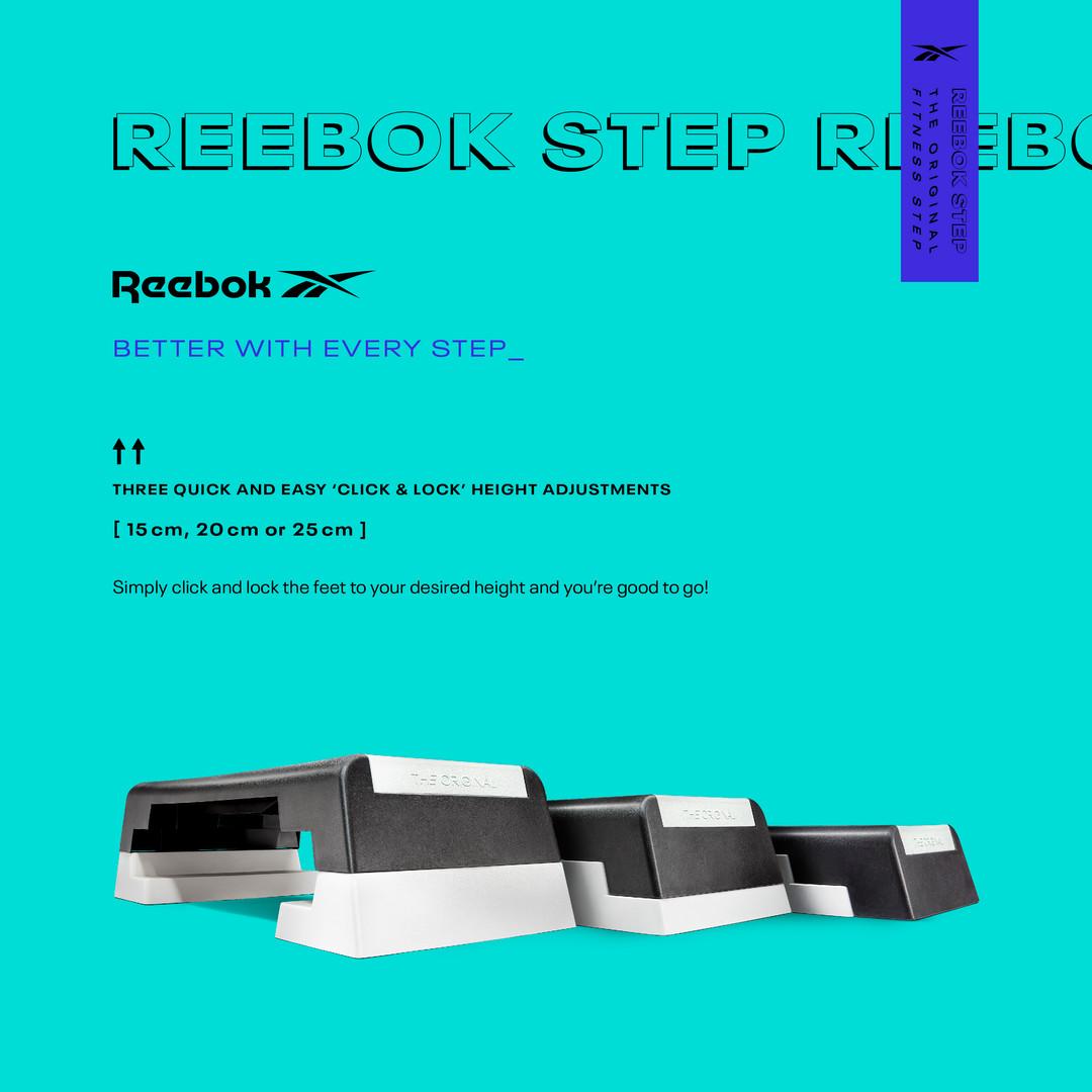 Height Adjustable Aerobic Step