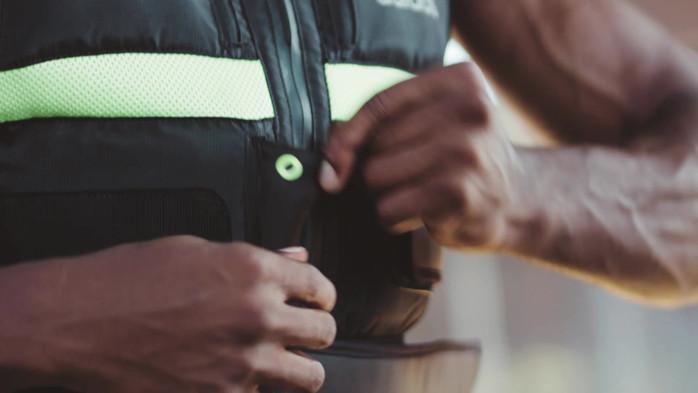 adidas weight vest video