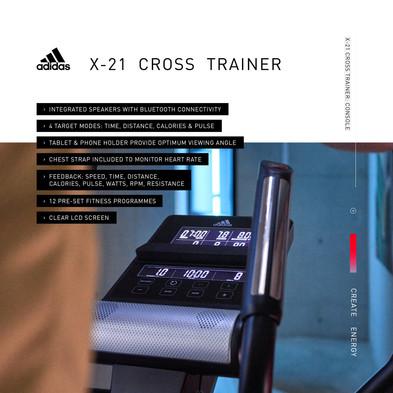 adidas X-21 Cross Trainer Console