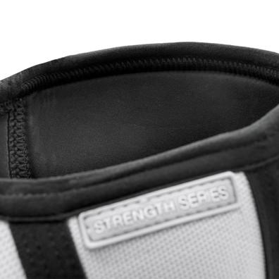 White & Black Reebok Knee Support Sleeves