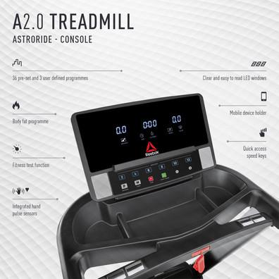A2.0 Treadmill Console
