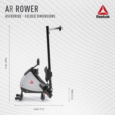 Reebok AR Rower Folded Dimensions