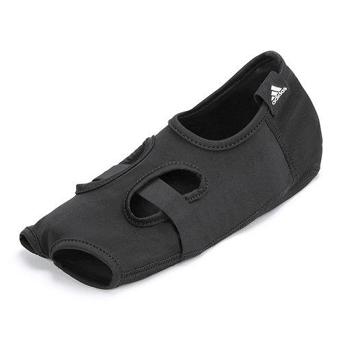 adidas open toe black yoga socks