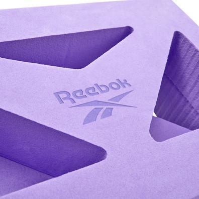 Reebok purple shaped yoga block