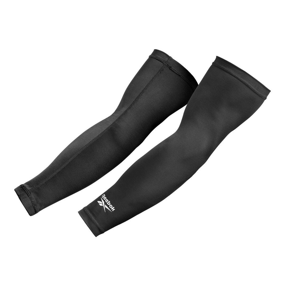 Black Reebok Arm Sleeves
