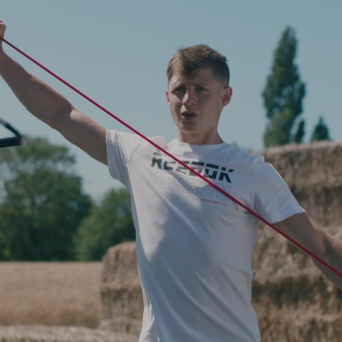 Reebok resistance tube bodyweight workout