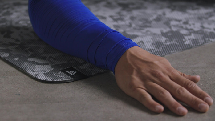 adidas Textured Foam Roller - Black