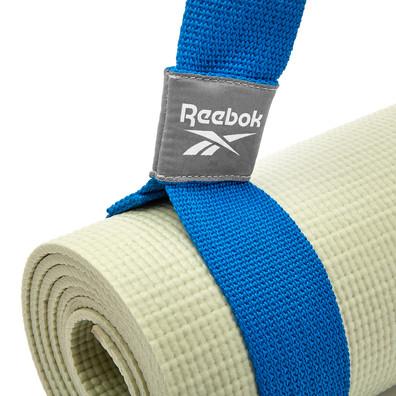 Blue Reebok yoga mat carry strap