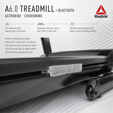 Reebok A6.0 Treadmill Cushioning