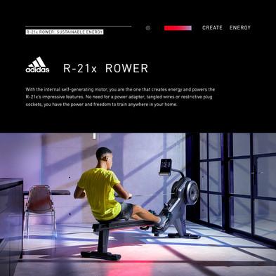 adidas R-21x Rower Sustainable Energy