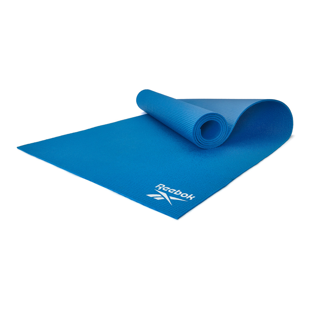 Reebok 4mm Blue Yoga Mat