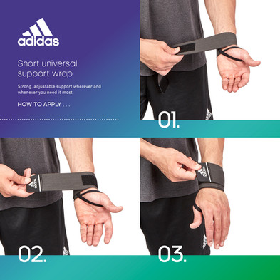 adidas short universal support wrap