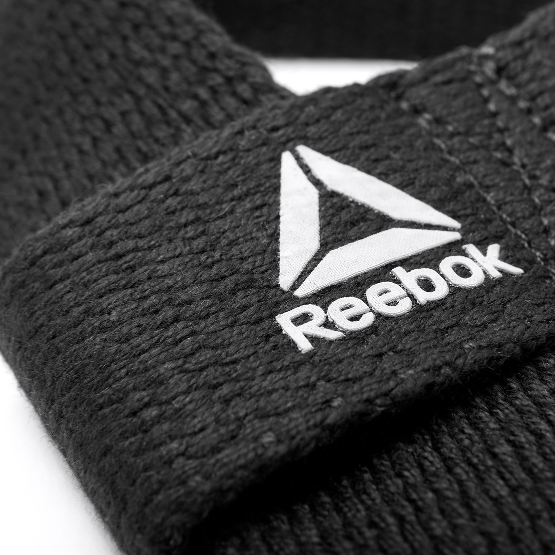 Reebok Training Black Lifting Straps
