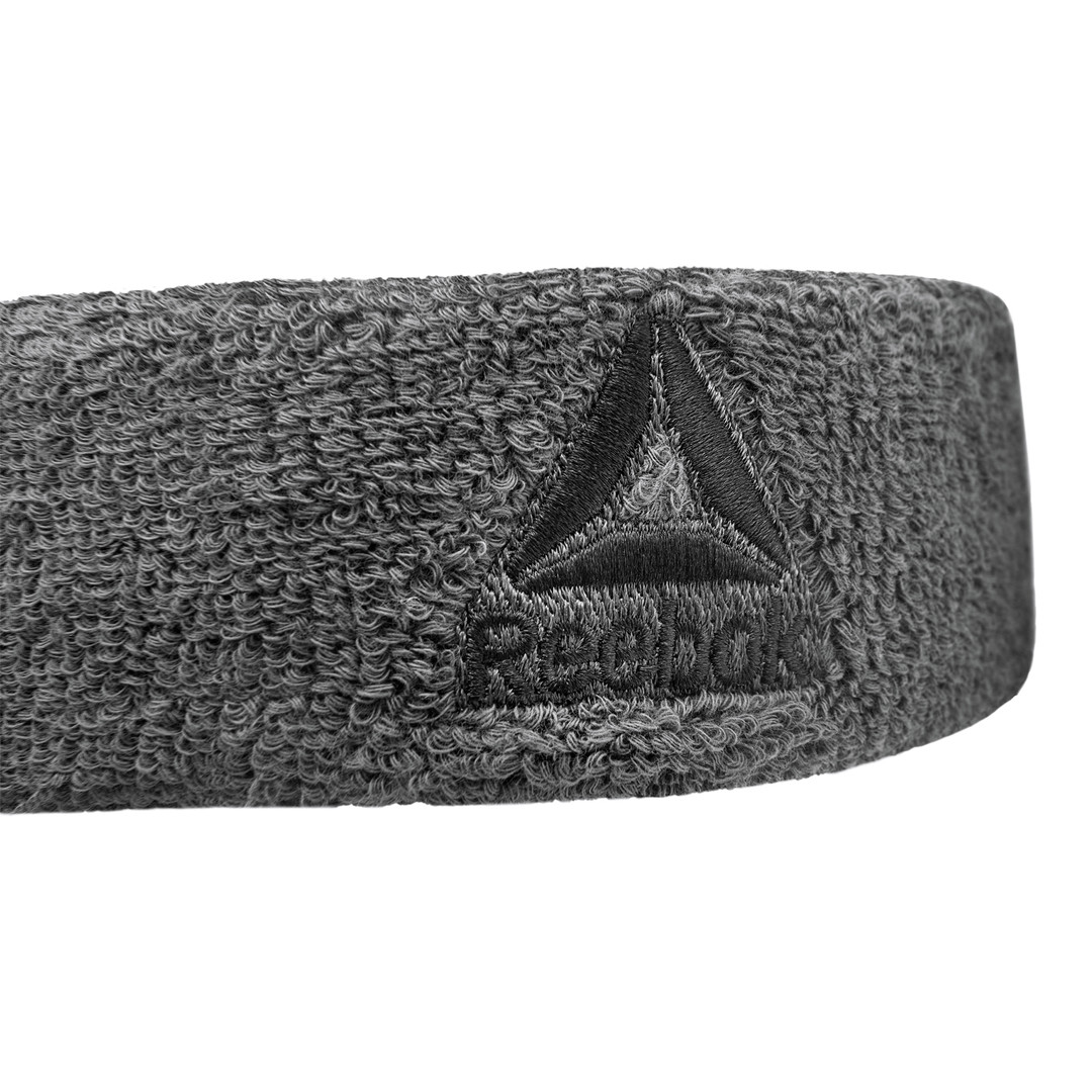 Grey Reebok Sweatband