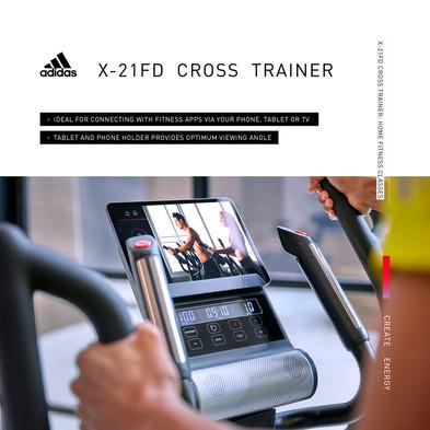 adidas X-21FD Cross Trainer Home Fitness