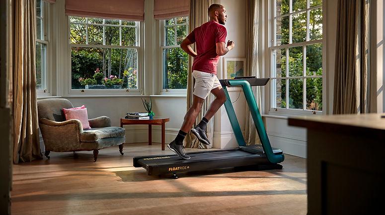 Reebok Teal Floatride Treadmill