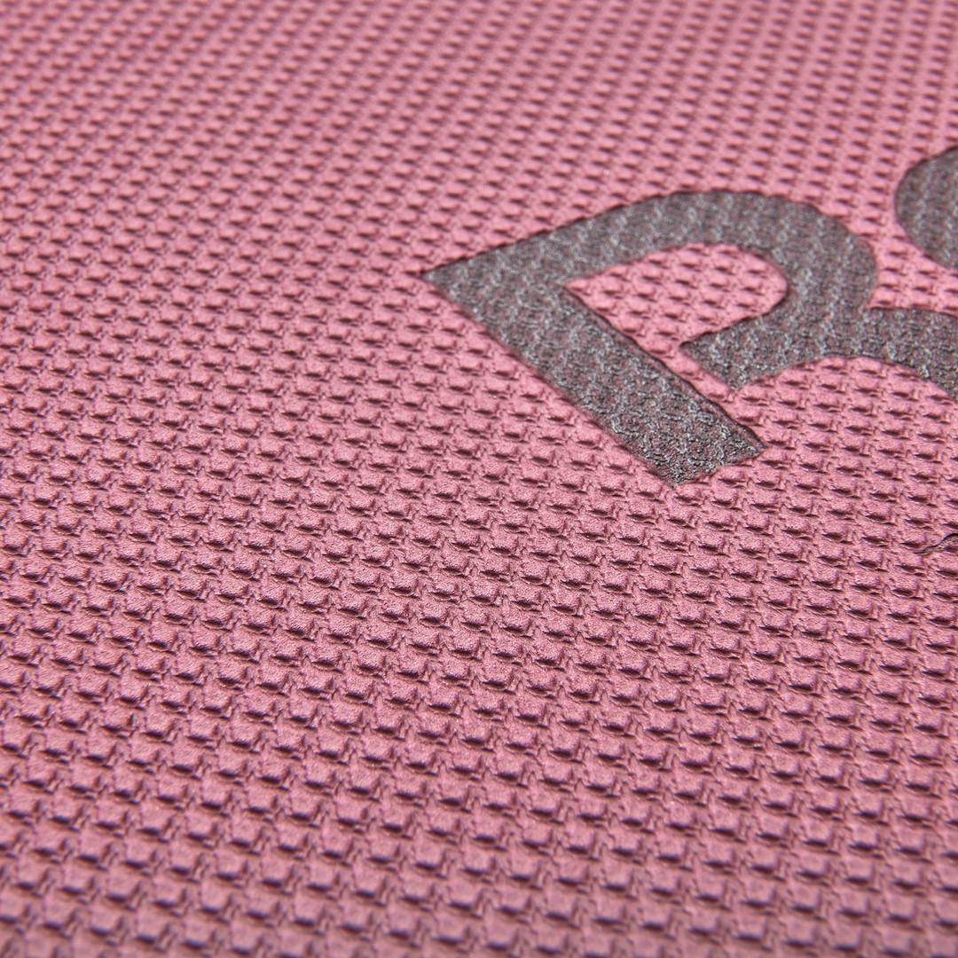 Reebok 6mm maroon & red yoga mat
