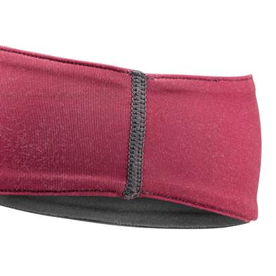 Collegiate Burgundy Yoga Headband