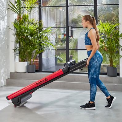 Reebok i-Run 4 Red Folding Treadmill