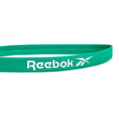 Reebok green sports hair band