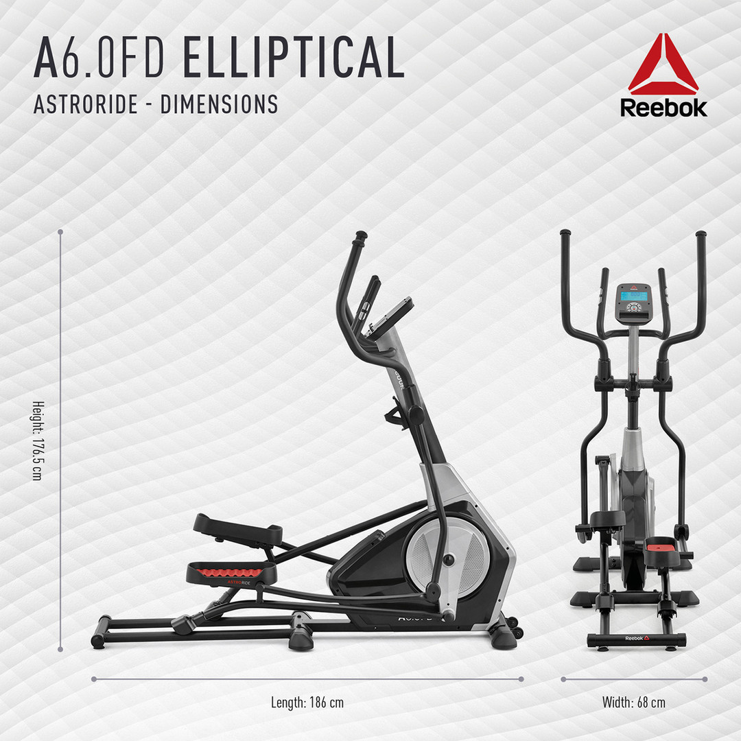 Reebok A6.0FD Cross Trainer Dimensions