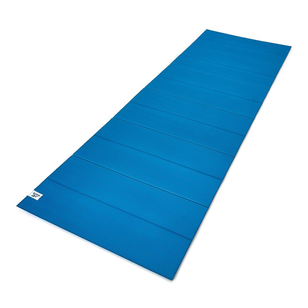 Reebok 6mm blue folding yoga mat