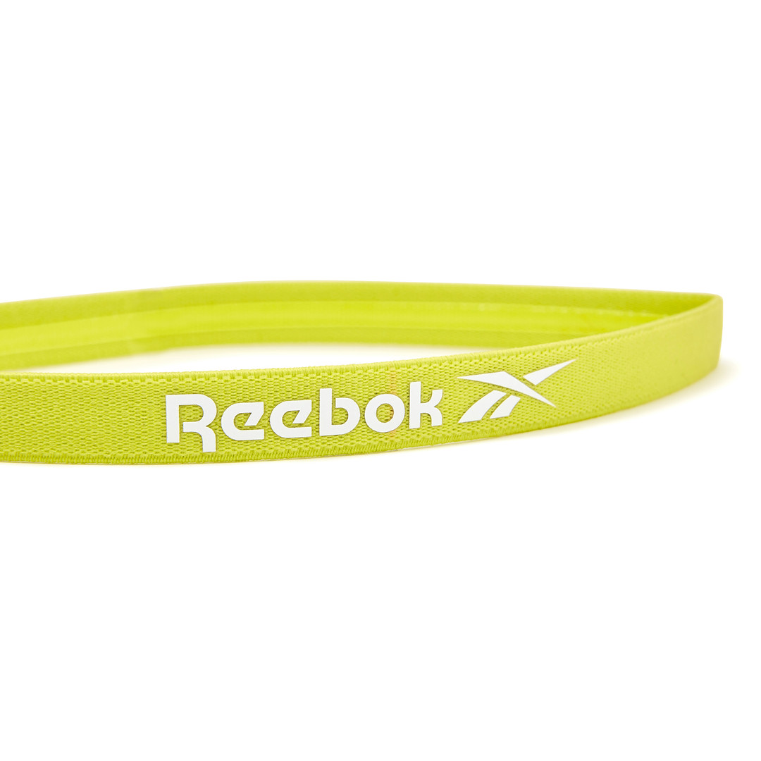 Reebok yellow sports hair band