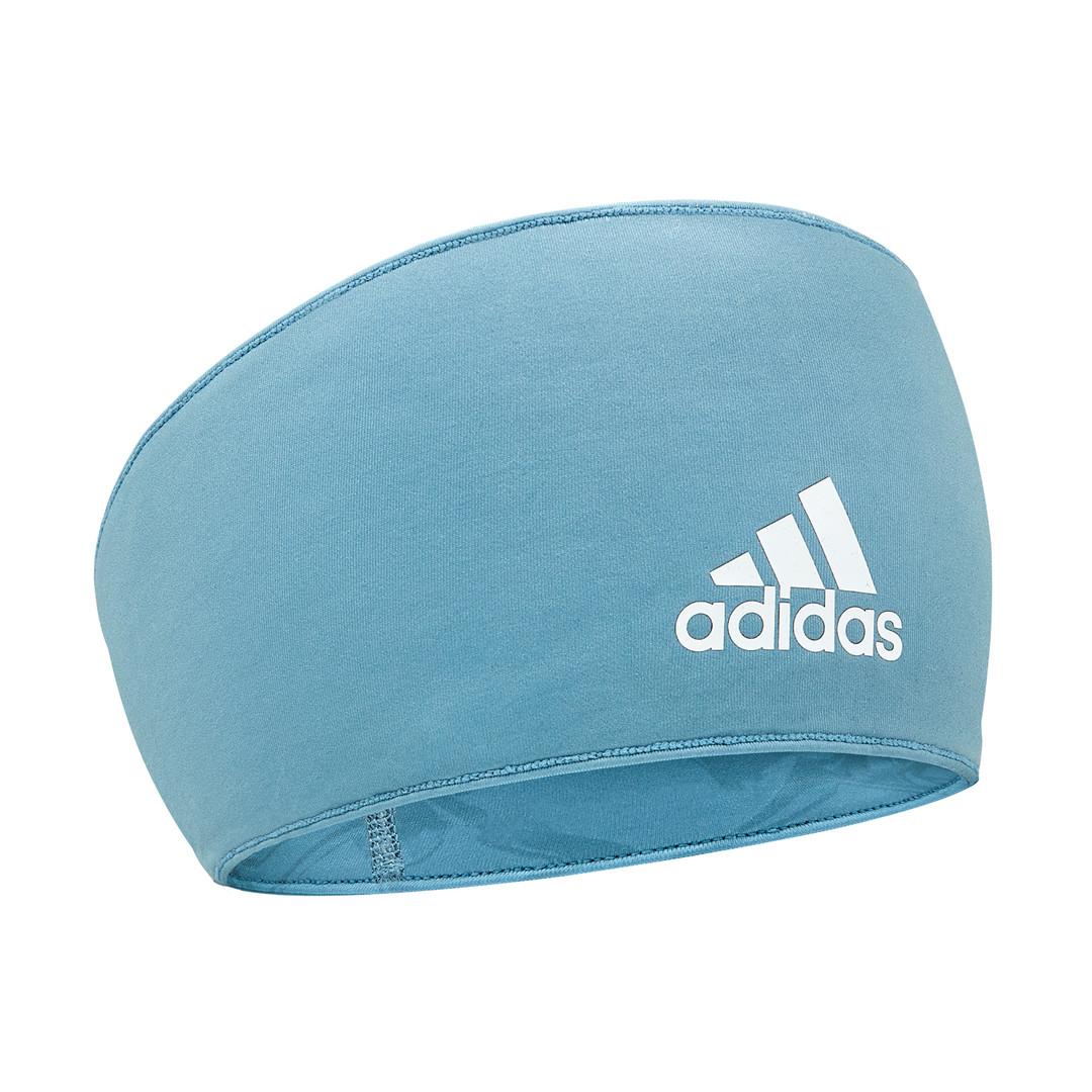 adidas blue marble print headband