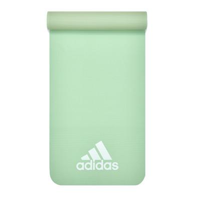 adidas green fitness mat