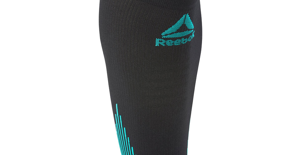 Reebok running knitted compression calf sleeves