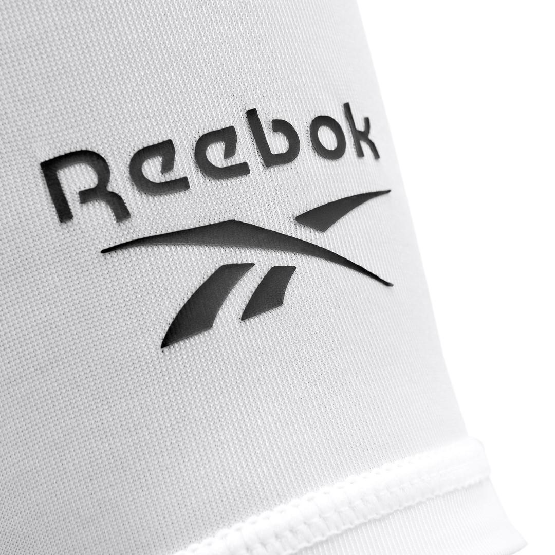 Reebok White Calf Sleeves