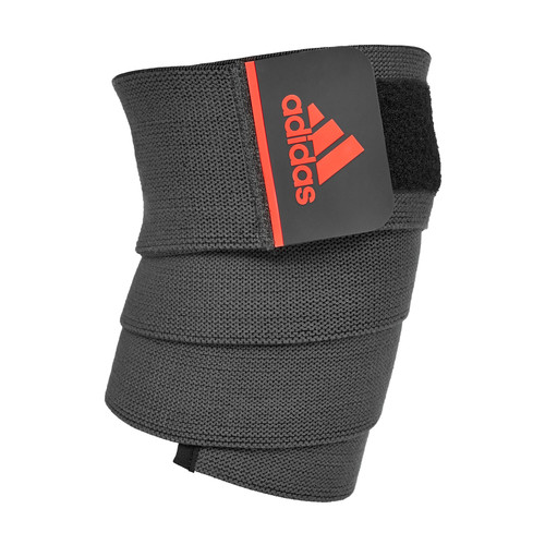 adidas knee support wrap solar red