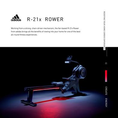 adidas R-21x Rower Intro