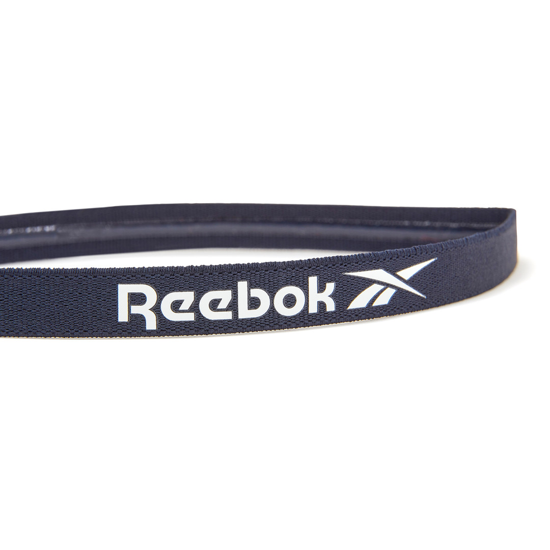 Reebok navy sports hair band