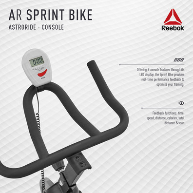 Reebok AR Sprint Bike Console