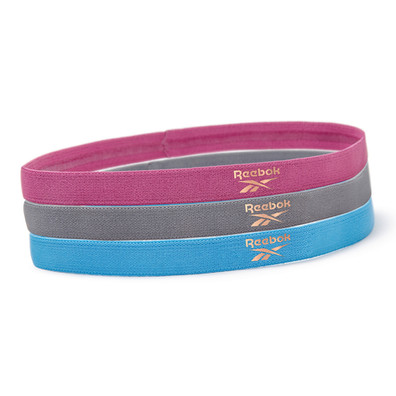 Reebok yoga sport hair bands with copper logo