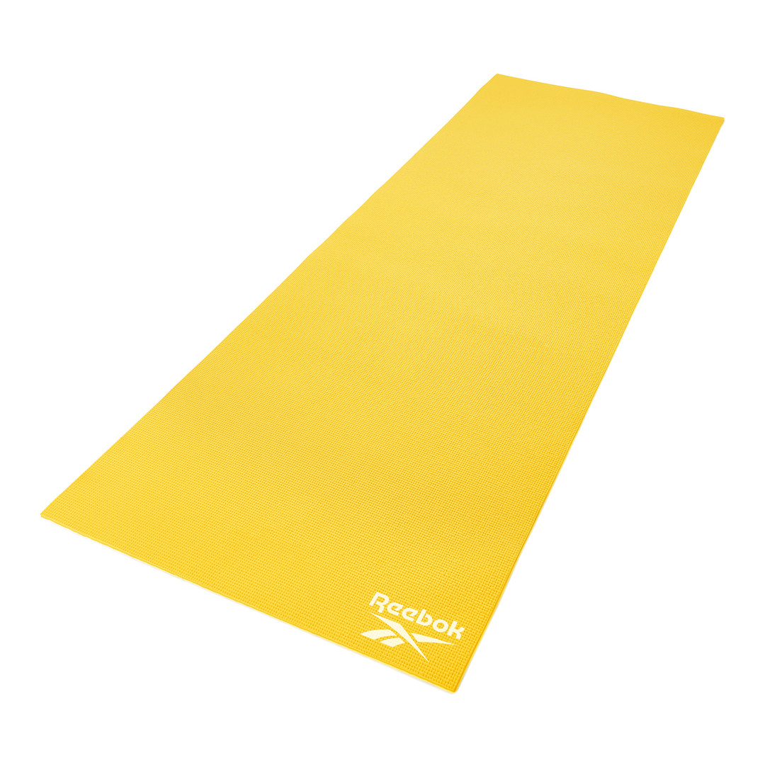 Reebok 4mm Yellow Yoga Mat