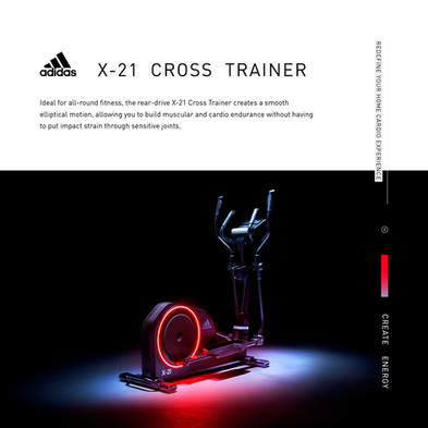 adidas X-21 Cross Trainer Intro